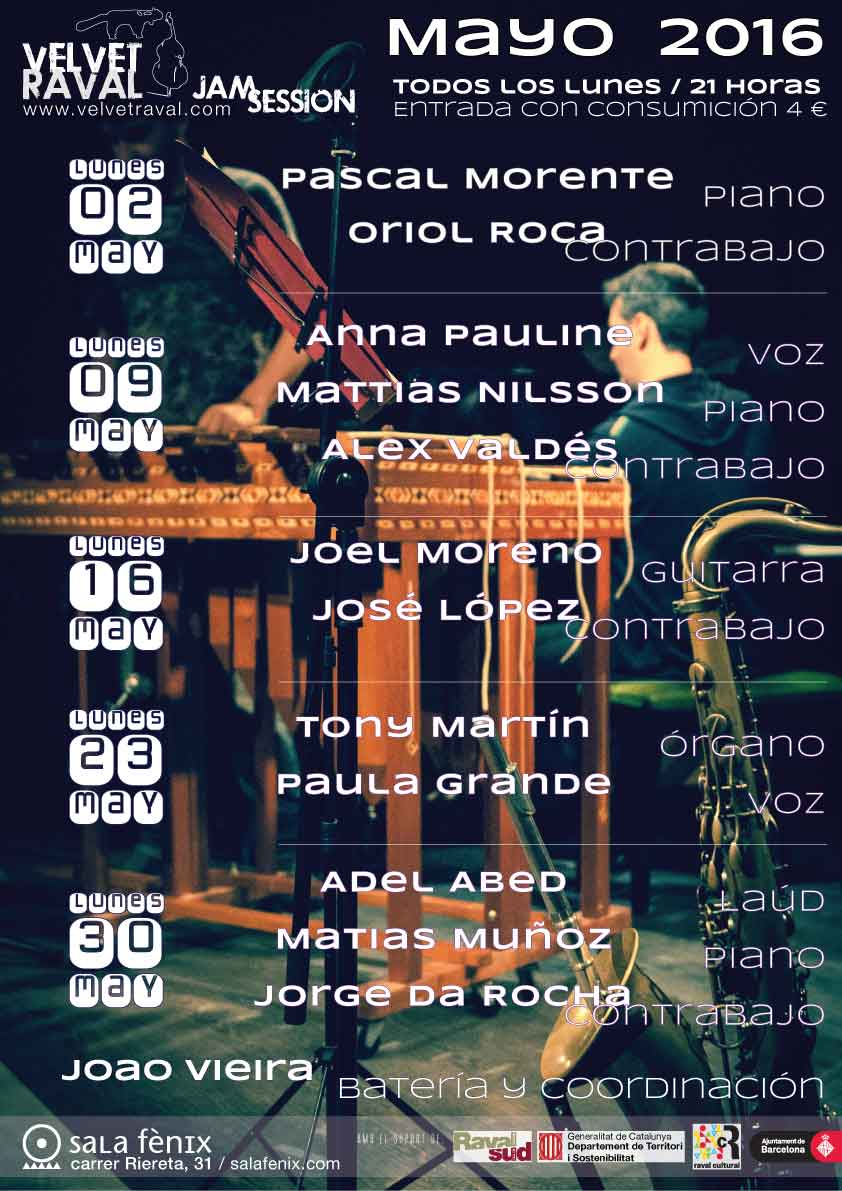 Jam Session del 23 mayo 2016
